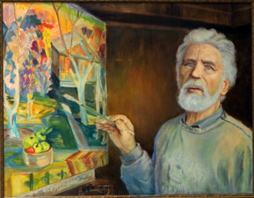 """Alexander Fedorovich Vazhnev. """"PORTRAIT OF KI. SHIHOV."""""""