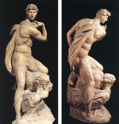 Michelangelo Buonarroti. The spirit of victory