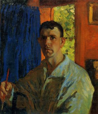 Sergey Vasilyevich Gerasimov. Self-portrait