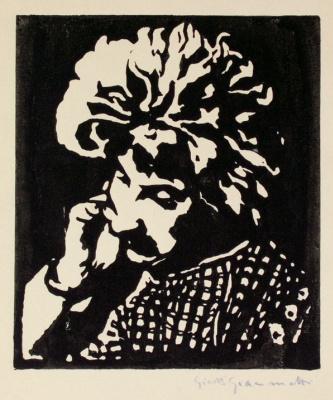 Giovanni Giacometti. Annette