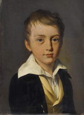 Louis-Leopold Boi. Portrait of a boy