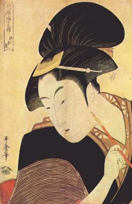 Китагава Утамаро. Тайная любовь