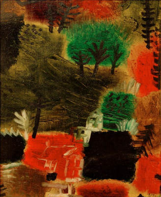 Paul Klee. The small landscape