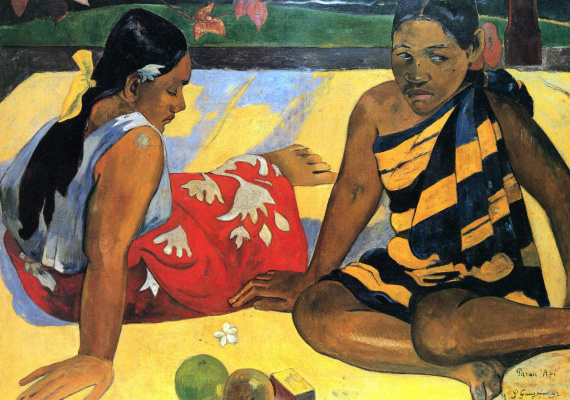 Paul Gauguin. What's new?
