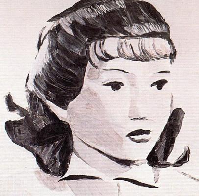 Люк Туйманс. Женский портрет