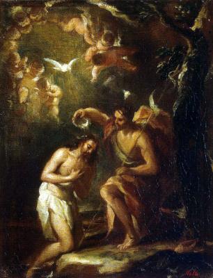Jose de Antolinez. The Baptism Of Christ