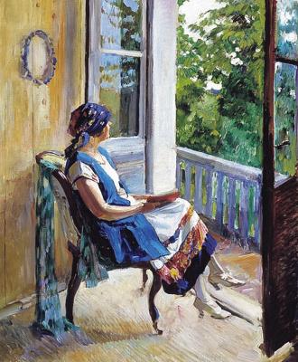 Sergey Arsenievich Vinogradov. Summer dreams
