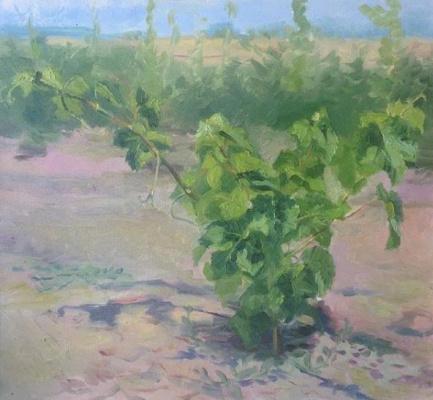 Irina Anatolevna Tesliq. Young grapes