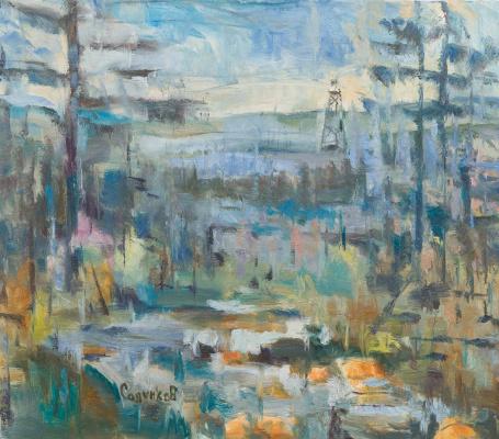 Igor Sapunkov. Taiga. River