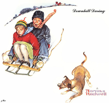 Norman Rockwell. Courage