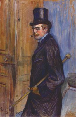 Henri de Toulouse-Lautrec. Mr Louis Pascal