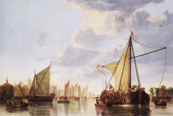Meuse in Dordrecht
