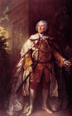 Томас Гейнсборо. Портрет Джона Кэмпбелла, 4-го герцога Аргайла