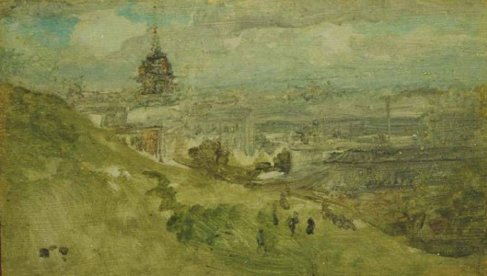 James Abbot McNeill Whistler. The distant dome