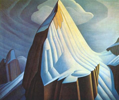 Lauren Harris. Mount Lefroy