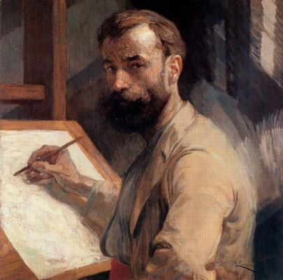 Франтишек Купка. Автопортрет