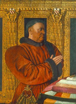 Jean Fouquet. Portrait Of Wilhelm Juvenile