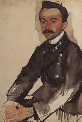 Zinaida Serebryakova. Portrait Of E. M. Egele