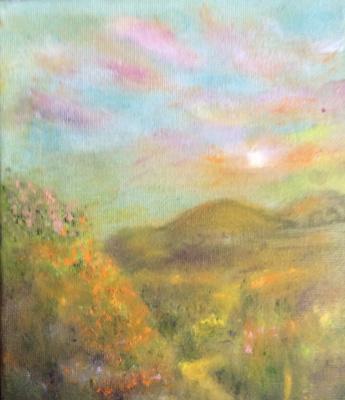 Rita Arkadievna Beckman. Dawn in the mountains of Galilee