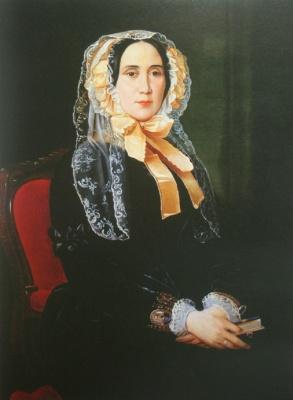 Sergey Konstantinovich Zaryanka. Portrait of Y. M. Greig