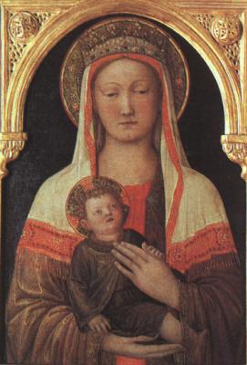 Якопо Беллини. Богородица