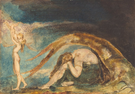 William Blake. The dream of Teralithe