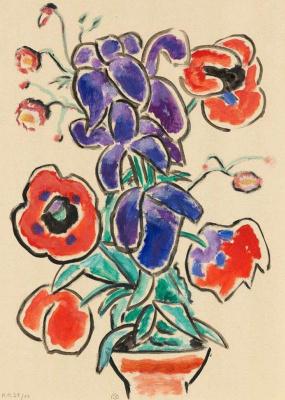 Gabriele Münter. Flowers