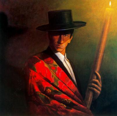 Альберто Донэр. Мужчина со свечей