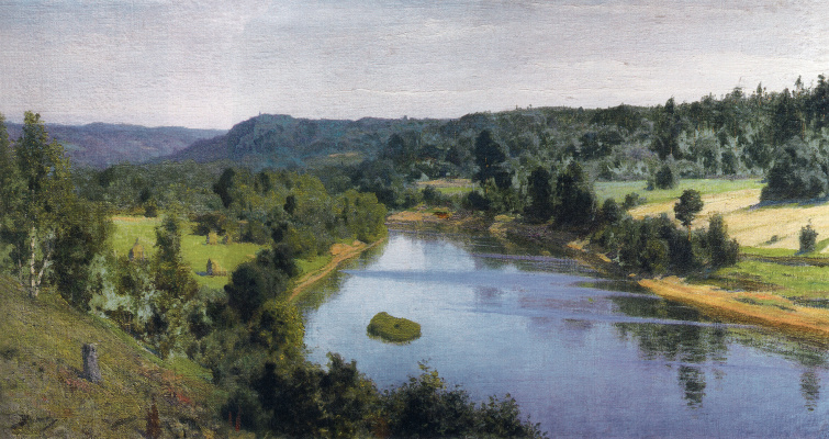 Vasily Dmitrievich Polenov. Tarusa. The River Oyat