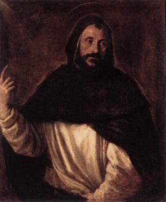 Тициан Вечеллио. Святой Доминик