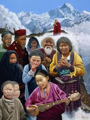 Эндрю Анненберг. Свободный Тибет