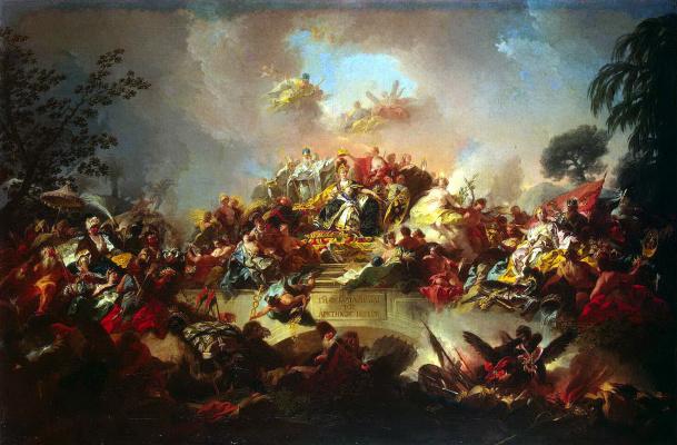 Грегорио Гульельми. Апофеоз царствования Екатерины II