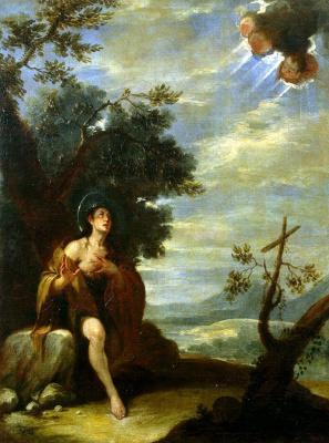 Хосе де Антолинес. Святая Мария Египетская в пустыне