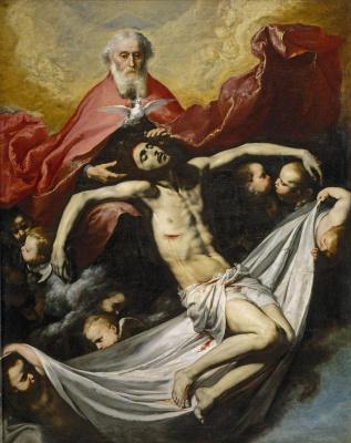 Jose de Ribera. Holy Trinity