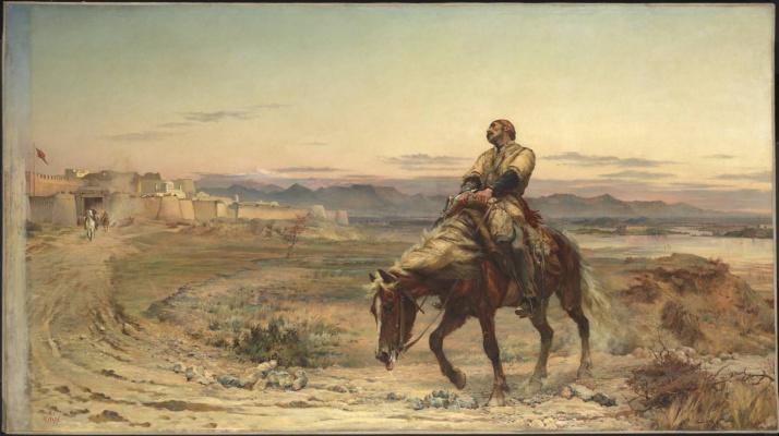 Элизабет Томпсон (Батлер). Остатки армии. Джелалабад, 13 января 1842