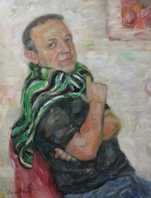 Oksana Viktorovna Zalevskaya. Portrait of Dima.