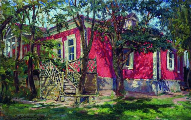 Sergey Arsenievich Vinogradov. Red cottage