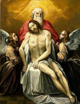 Cesari Giuseppe (Cavalier d'Arpino). The Holy Trinity. 1622 approx.
