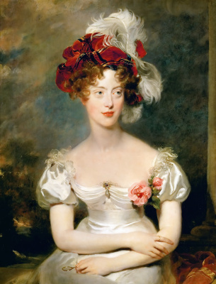 Томас Лоуренс. Портрет Марии Каролины де Бурбон-Сицилийской, герцогини Беррийской