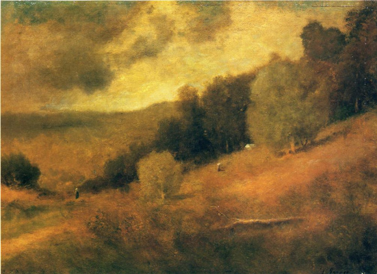 George Innes. Storm day