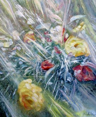 Alexander Ivanovich Vlasyuk. Roses