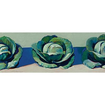 Wayne Thibaut. Three cabbage