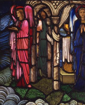 Уильям Моррис. Ангелы, охраняющие Святой Грааль. Фрагмент