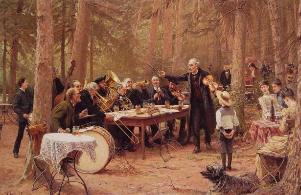 Вильгельм Карл Август Циммер. Оркестр