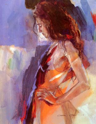 Кристина Комин. Одалиска 3