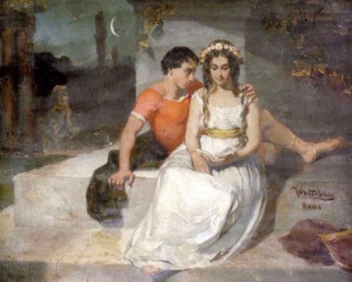 Вильгельм Александрович Котарбинский. Влюбленные