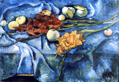 Александр Викторович Беляков. Apples and gladioli