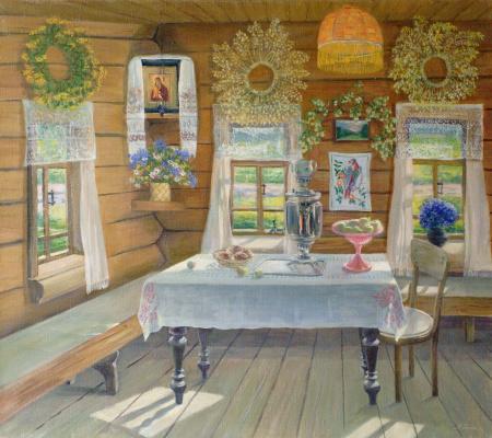 Marina Dmitrievna Razin. Interior. Apple Spas