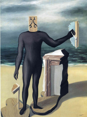 René Magritte. The man from the sea