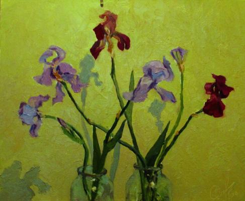 "Игорь Симелин. ""Irises"""
